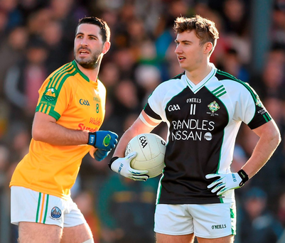 South Kerry's Bryan Sheehan and Legion's James Donoghue