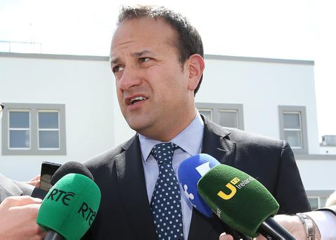 Leo Varadkar said it is not possible to close until the works are completed