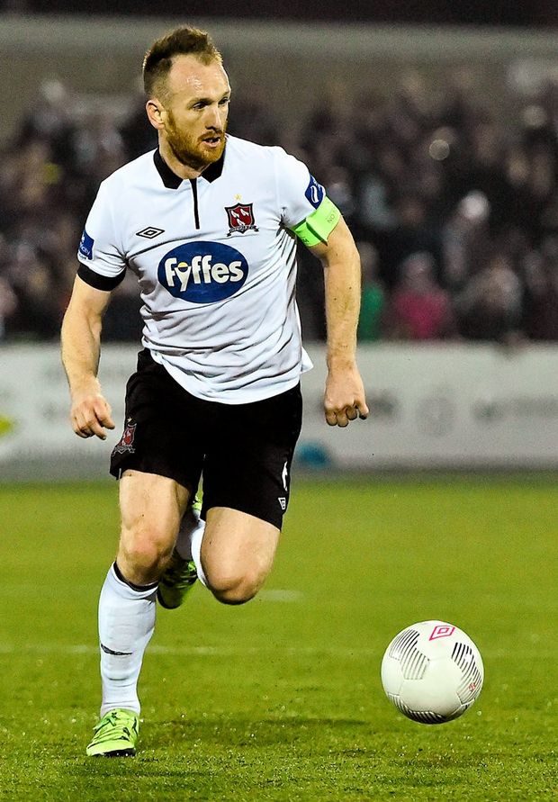 Stephen O'Donnell is an important player for Dundalk