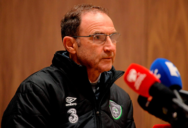 Ireland manager Martin O'Neill during a press conference at the National Sports Campus, Abbotstown, Co Dublin