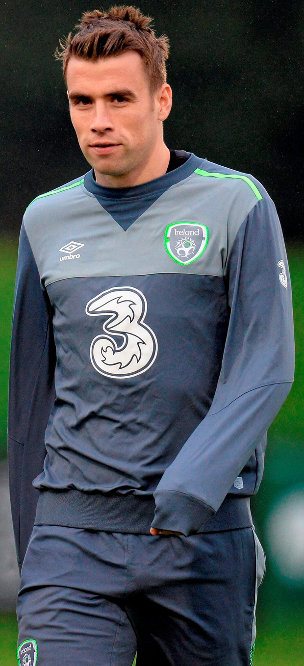 Seamus Coleman missed out on a spot in the Euro 2012 squad