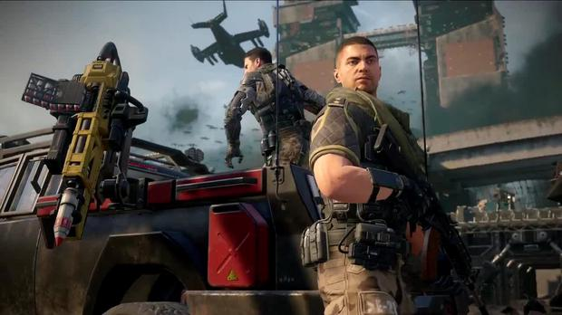 Call of Duty: Black Ops III - crammed with futuristic military hardware