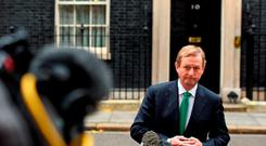 The Fine Gael leader said that while the choice on whether or not to stay in the European Union was for the British people alone to take, its continued membership 'is good for Ireland and for relationships on these islands'