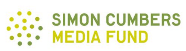 Simon Cumbers Media Fund logo.