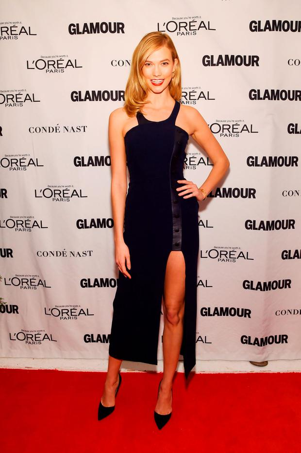 Model Karlie Kloss attends 2015 Glamour Women Of The Year Awards at Carnegie Hall on November 9, 2015 in New York City. (Photo by Larry Busacca/Getty Images for Glamour)