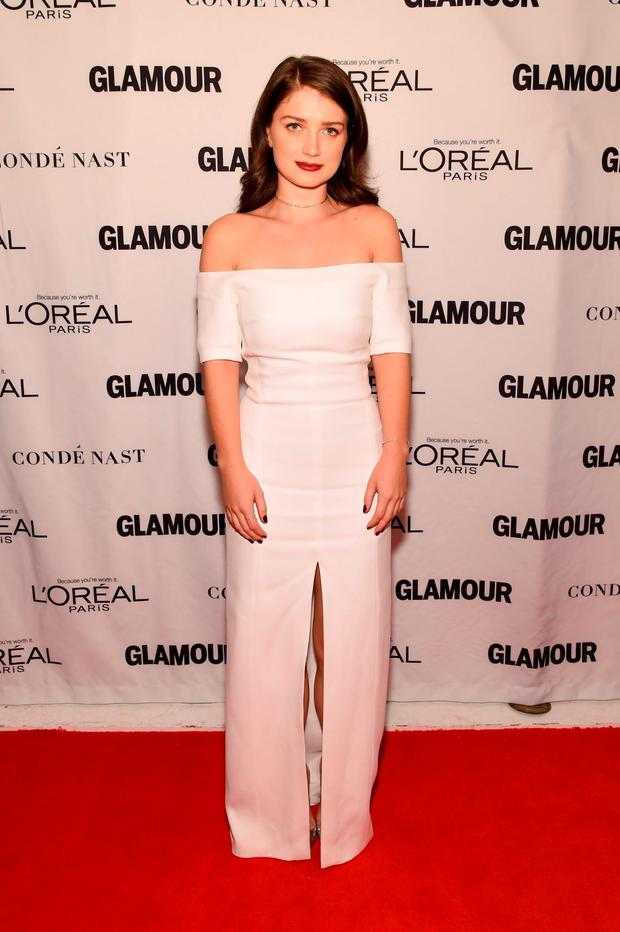 Actress Eve Hewson attends 2015 Glamour Women Of The Year Awards at Carnegie Hall on November 9, 2015 in New York City. (Photo by Larry Busacca/Getty Images for Glamour)