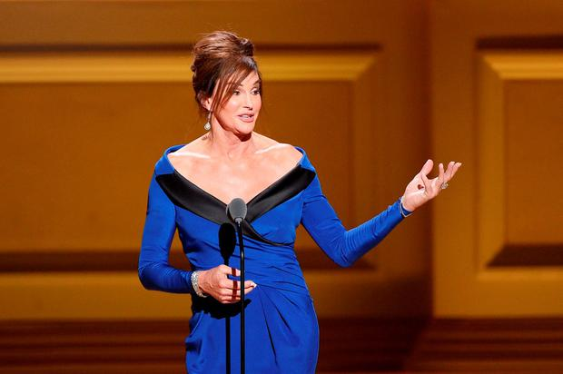 Caitlyn Jenner speaks onstage at the 2015 Glamour Women of the Year Awards on November 9, 2015 in New York City. (Photo by Larry Busacca/Getty Images for Glamour)