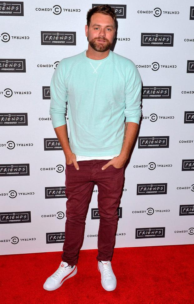 LONDON, ENGLAND - SEPTEMBER 15: Brian McFadden attends the launch of Friendsfest at The Boiler House,The Old Truman Brewery, on September 15, 2015 in London, England. (Photo by Anthony Harvey/Getty Images)