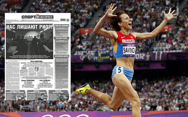 Russian media have reacted with increduilty to the doping allegations against their country and leading athletes including Mariya Savinova