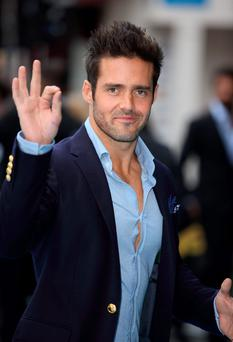 LONDON, ENGLAND - JUNE 09: Spencer Matthews attends the European Premiere of