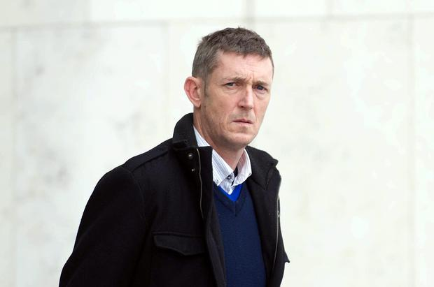Colin Foley (45), of Brookmount Ave, Balrothery, Tallaght, Dublin leaves court. Photo: Collins Courts.