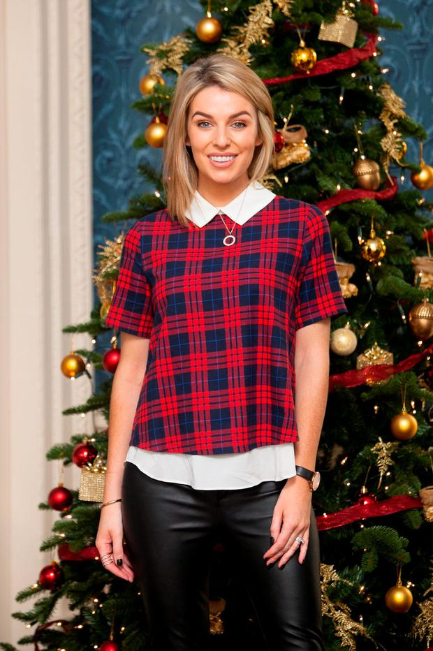 Pippa O'Connor at the launch of Centra's 2015 Christmas range in The Merrion Hotel
