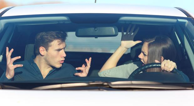 Partners can be the most stressful front-seat passengers.