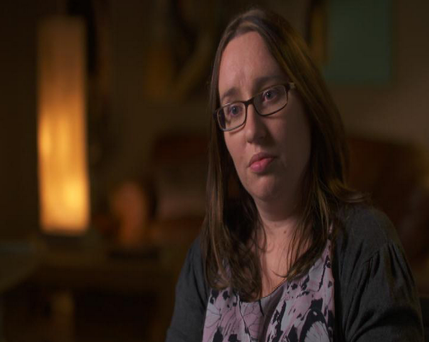Niamh Holliday, daughter of Margot Seery. Photo: RTE Prime Time