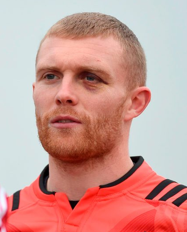 Kieth Earls sat out training in Limerick yesterday but Foley is hopeful that he will be fit enough to return on Saturday