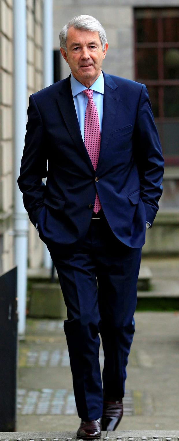 Mr Lowry made 31 bank accounts available to the tribunal over nine years which involved a huge amount of work