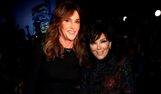 Caitlyn Jenner and Kris Jenner attend the 2015 Victoria's Secret Fashion Show at Lexington Avenue Armory on November 10, 2015 in New York City. (Photo by Dimitrios Kambouris/Getty Images for Victoria's Secret)