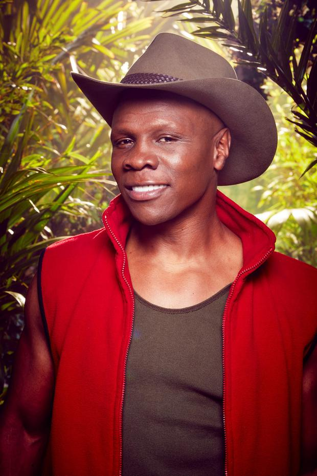 Undated handout photo issued by ITV of Chris Eubank, who has been revealed as one of the contestants for I'm A Celebrity ... Get Me Out Of Here! 2015. PRESS ASSOCIATION Photo. Issue date: Tuesday November 10, 2015. Also among the 10-strong line-up is fashion guru Susannah Constantine, Spandau Ballet's Tony Hadley, TV personality Yvette Fielding, X Factor choreographer Brian Friedman and Union J's George Shelley. See PA story SHOWBIZ Celebrity. Photo credit should read: ITV/PA Wire NOTE TO EDITORS: This handout photo may only be used in for editorial reporting purposes for the contemporaneous illustration of events, things or the people in the image or facts mentioned in the caption. Reuse of the picture may require further permission from the copyright holder.