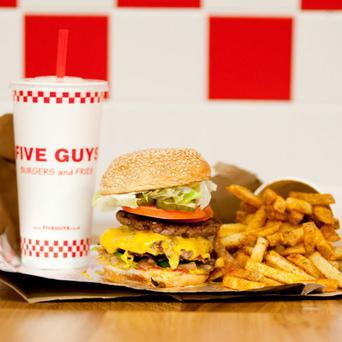 Photo: Five Guys