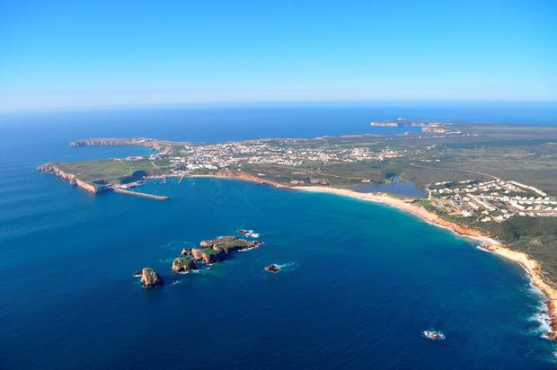 Local area-aerial Martinhal beach and Sagres region.jpg