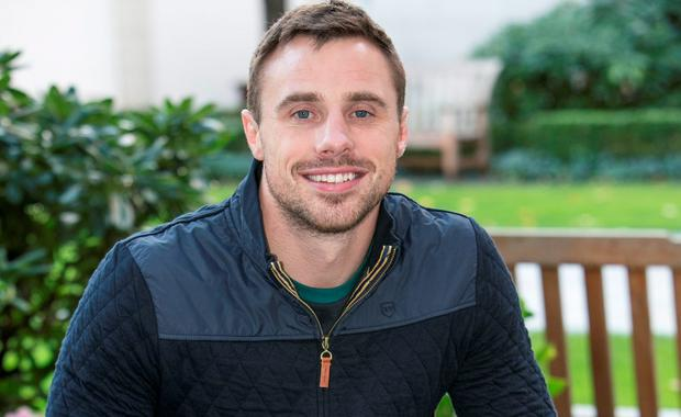 Ireland Rugby star and Clothes Designer Tommy Bowe pictured at the Intercontinental Hotel Ballsbridge. Picture: Kyran O'Brien