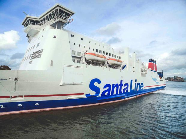 Stena Line is getting a Christmas makeover this year...
