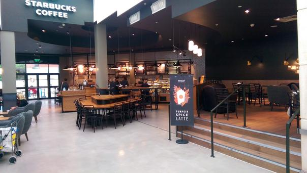 Starbucks has taken nearly 3,000 sq ft in Bloomfields Centre.