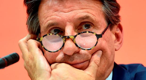 IAAF president Sebastian Coe is under increasing pressure as a result of the fallout from the Russian doping scandal