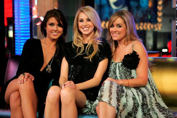 (L-R) Audrina Patridge, Whitney Port, and Lauren Conrad from