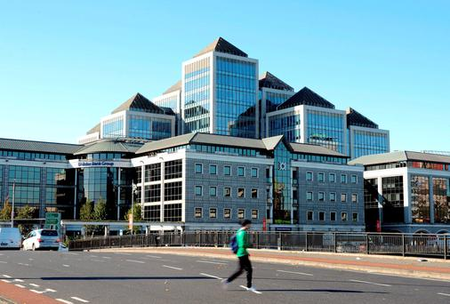 Ulster Bank's headquarters in Dublin