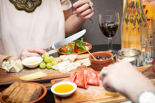With cured meats, olives and tangy cheeses, Spanish food is flattered by its wine.