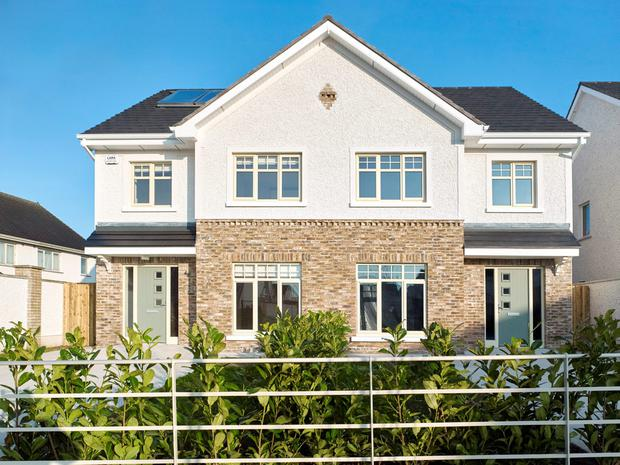 Prices for the semi-detached homes begin at €197,950.