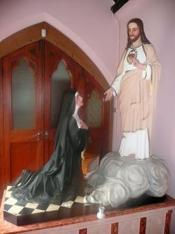 Statues and items of furniture are among the lots in the Mercy Convent auction