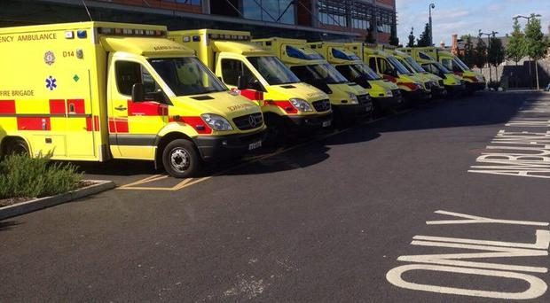 Ambulances (Stock photo)