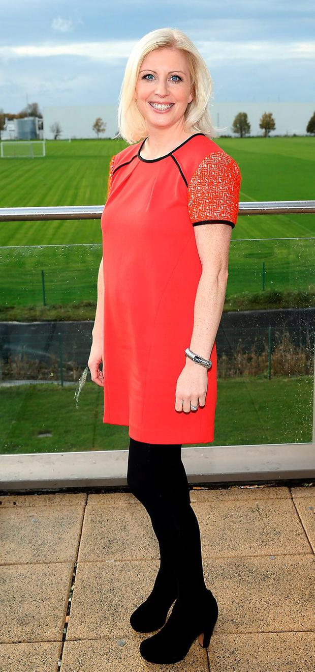 Dietician Aoife Hearne at Sports Link Santry Dublin Picture Brian McEvoy