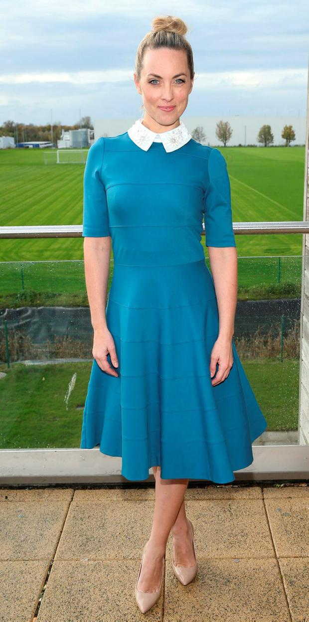 Presenter Kathryn Thomas at the Operation Transformation launch. Picture: Brian McEvoy