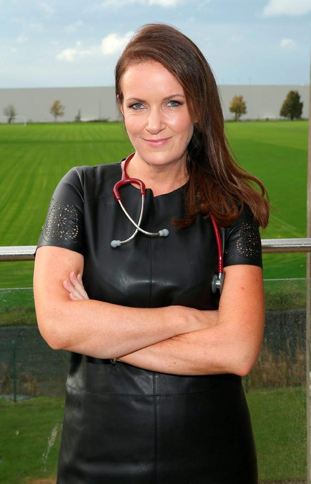 News series of Rte's Operation Transformation The Experts: Dr Ciara Kelly at Sports Link Santry Dublin Picture Brian McEvoy No Repro fee for one use