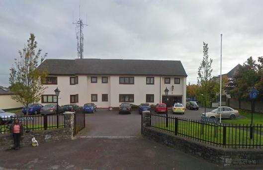 Ashbourne garda station, where one of the men is being held