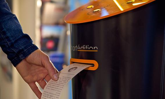 One of the vending machines in Grenoble Credit: Short Edition website