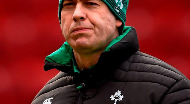 Ireland head coach Tom Tierney is eager to make the most of his side's clash with England