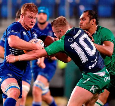 Connacht Eagles' Conor McKeon (10) was the star of the show