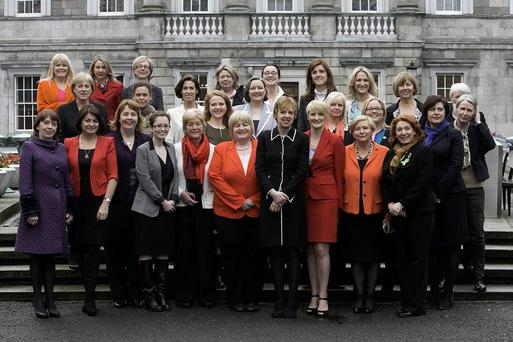 Female TDs and Senators