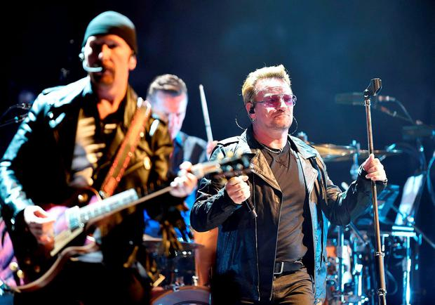 U2 were forced to cancel two shows in Paris due to be played this weekend