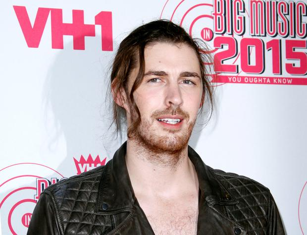 NEW YORK, NY - NOVEMBER 12: Hozier attends VH1's