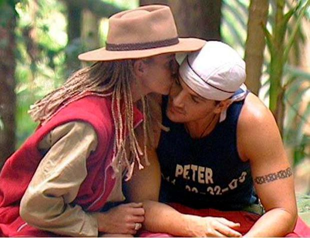 Who can forget Peter Andre and Katie Price's budding romance on I'm a Celebrity?