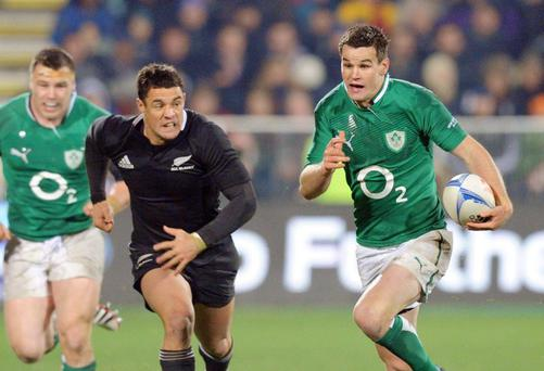 Jonathan Sexton and Dan Carter could have been competing for the number 10 jersey with Ireland