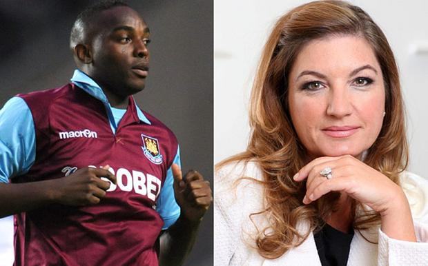 Benni McCarthy's comments about women in football have been given a suitable response by Karren Brady