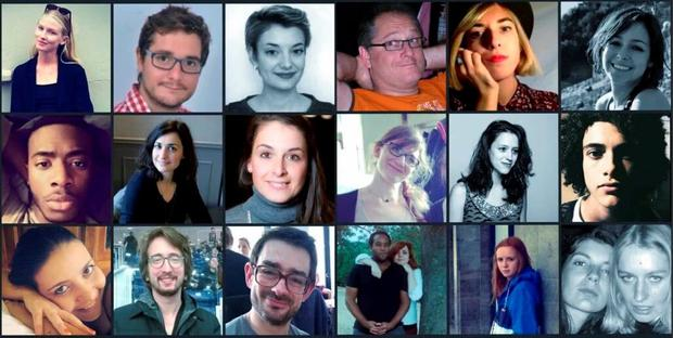 The hashtag #RechercheBataclan is being used to trace those missing after the Paris terror attacks Credit: DylanxOBabe\Twitter