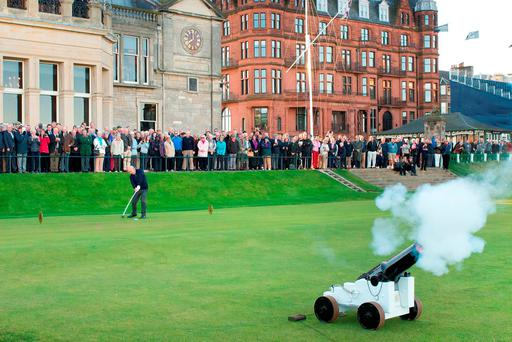 Gavin Caldwell Drives In as Captain of The Royal and Ancient Golf Club