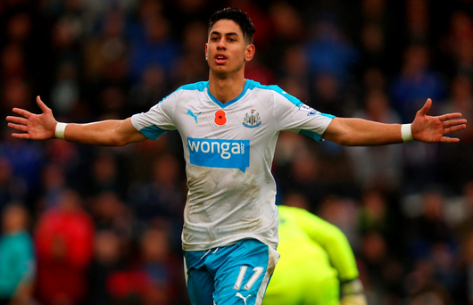 Ayoze Perez's first-team performances were a rare bright spark in Newcastle's poor start to last season